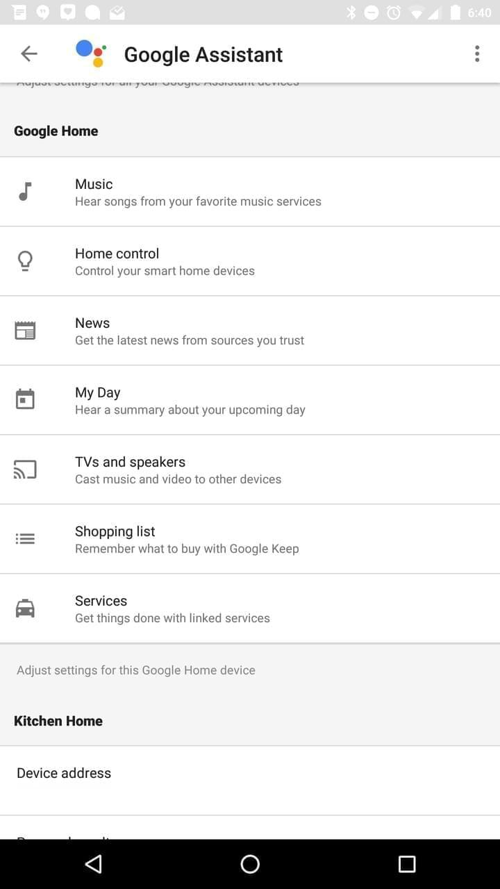 Google Home AH NS app assistant 2