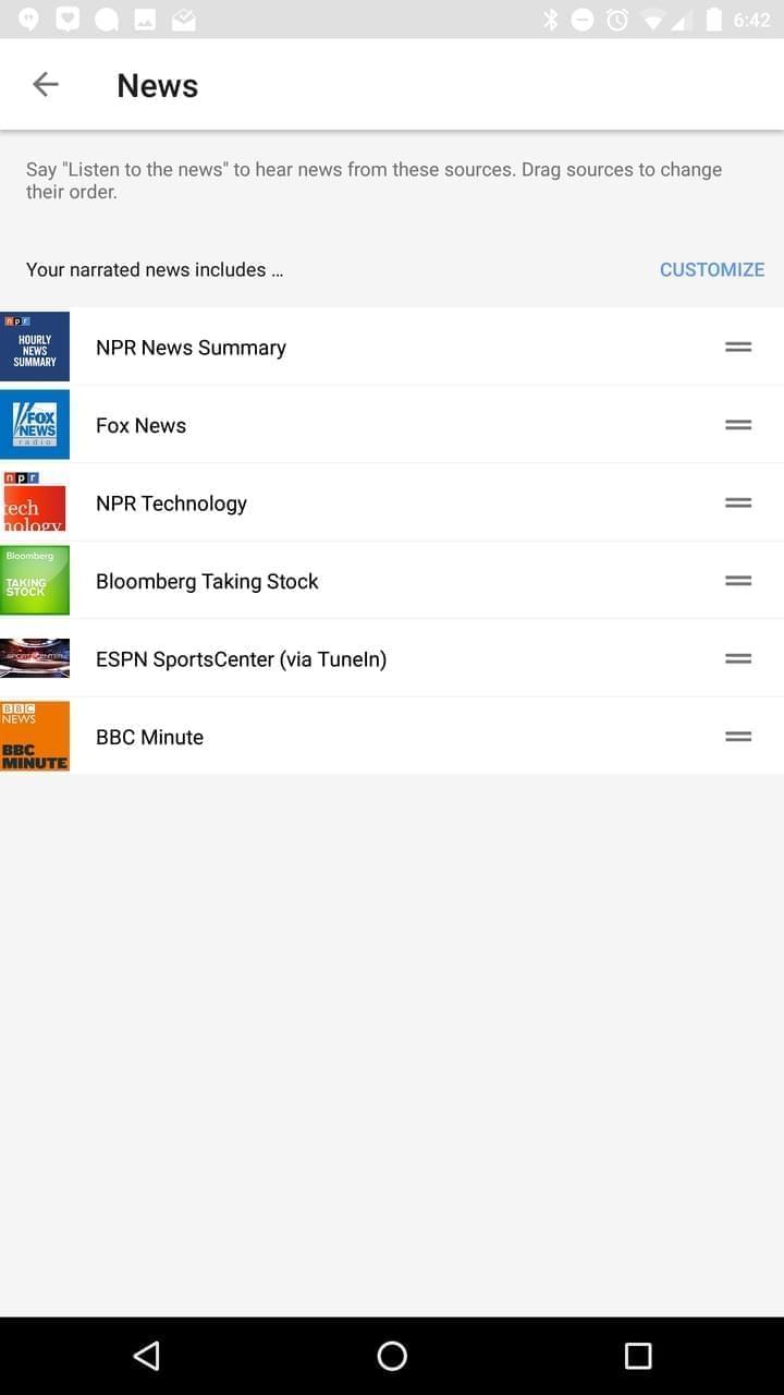 Google Home AH NS app assistant 4