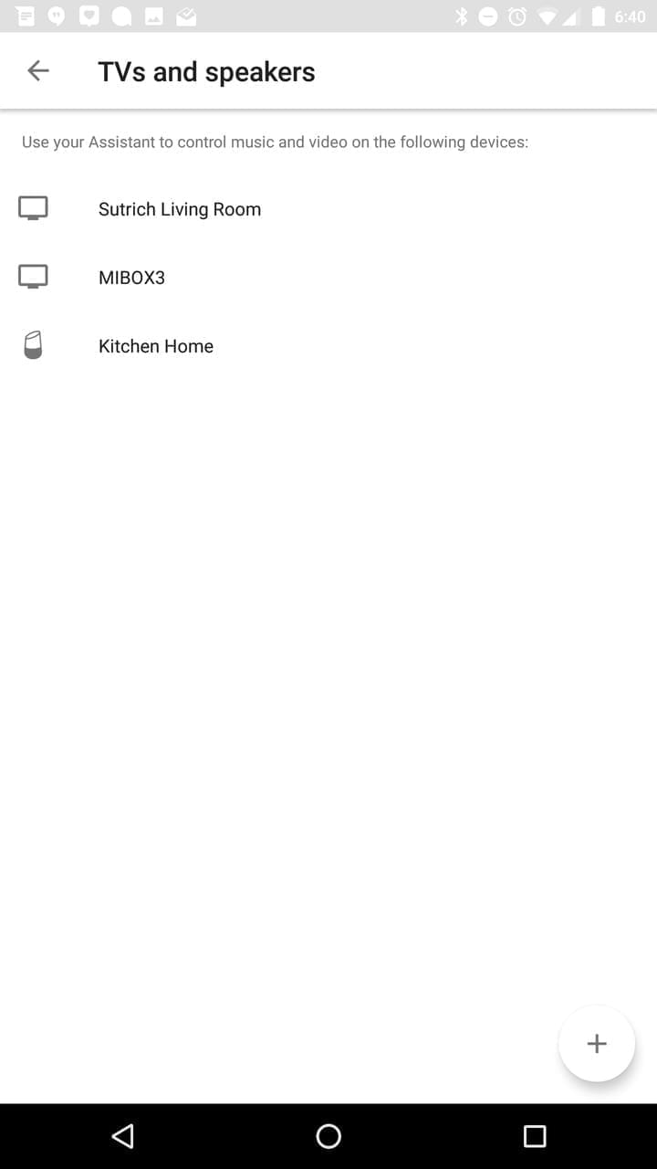 Google Home AH NS app cast devices 2