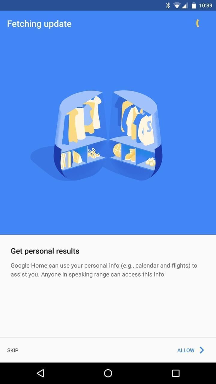 Google Home AH NS app privacy 3