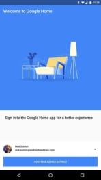 Google Home AH NS app setup 1