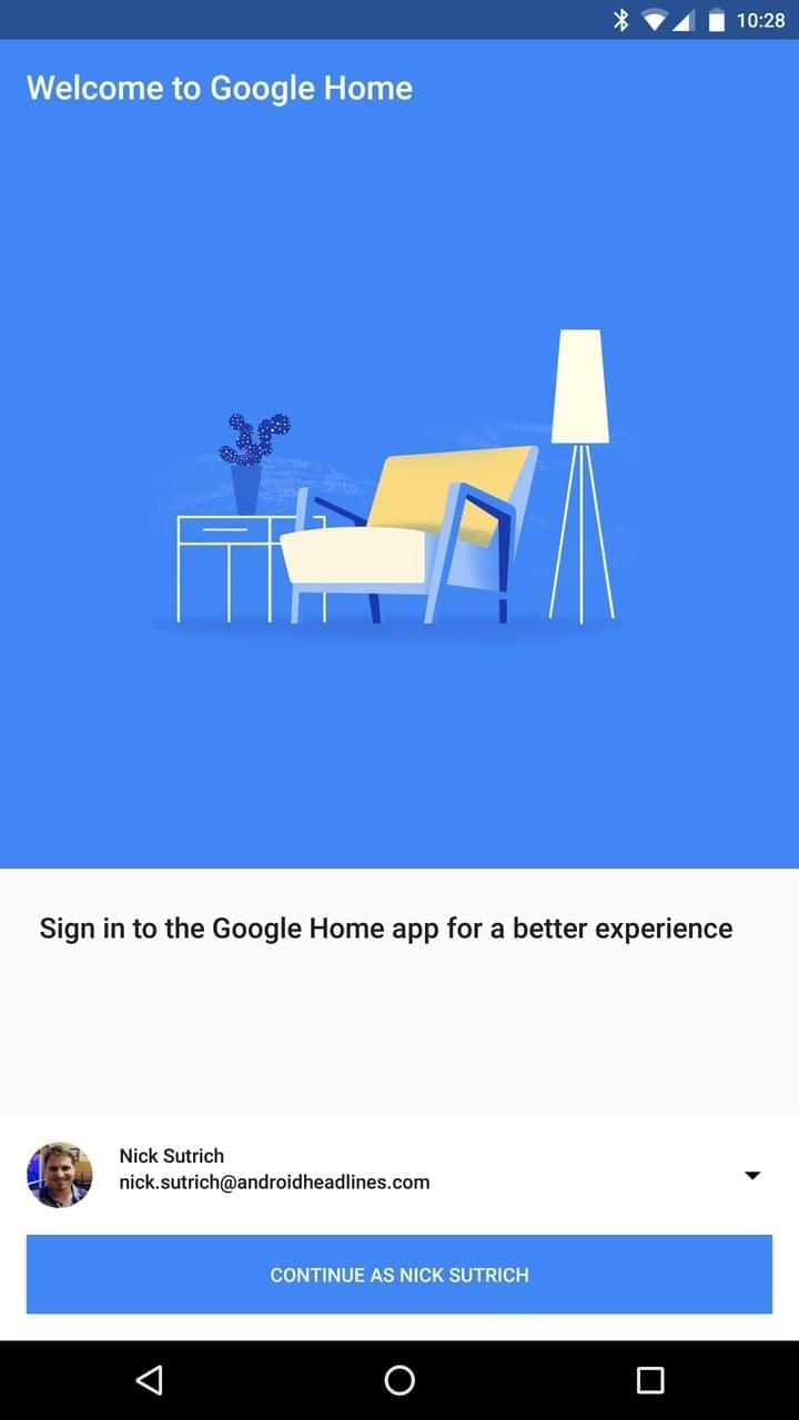 google home setup