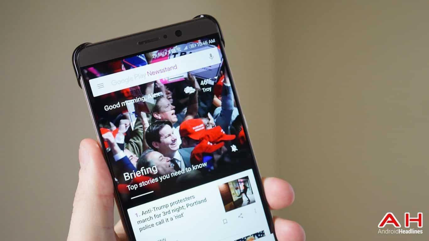 Google Play Newsstand AH 1