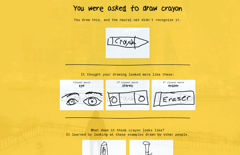 Google QuickDraw AI 2