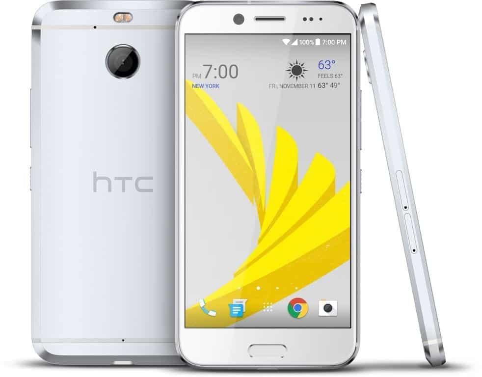 HTC Bolt Glacier Silver Press 1