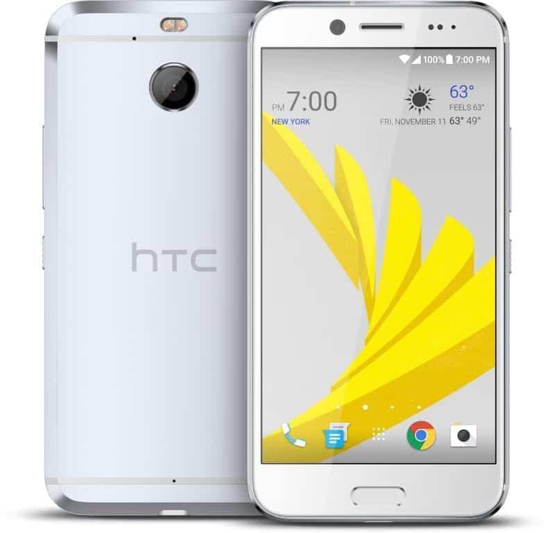 HTC Bolt Glacier Silver Press 3
