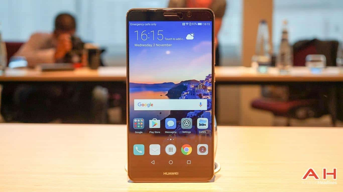 Huawei Mate 9 Hands On AH AM 4