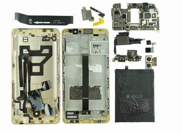 Huawei Mate 9 teardown 25