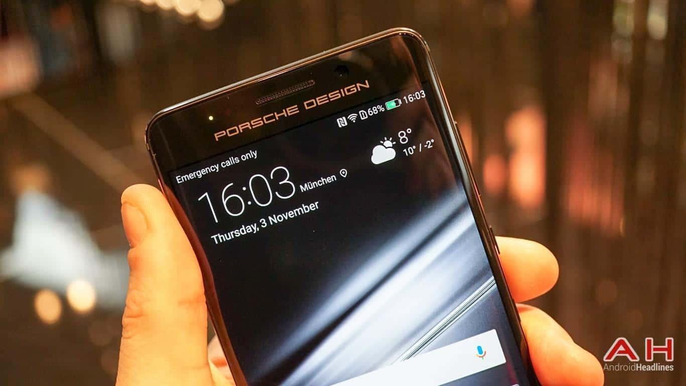 Huawei PRSCHE DESIGN Mate 9 Hands On AH 10