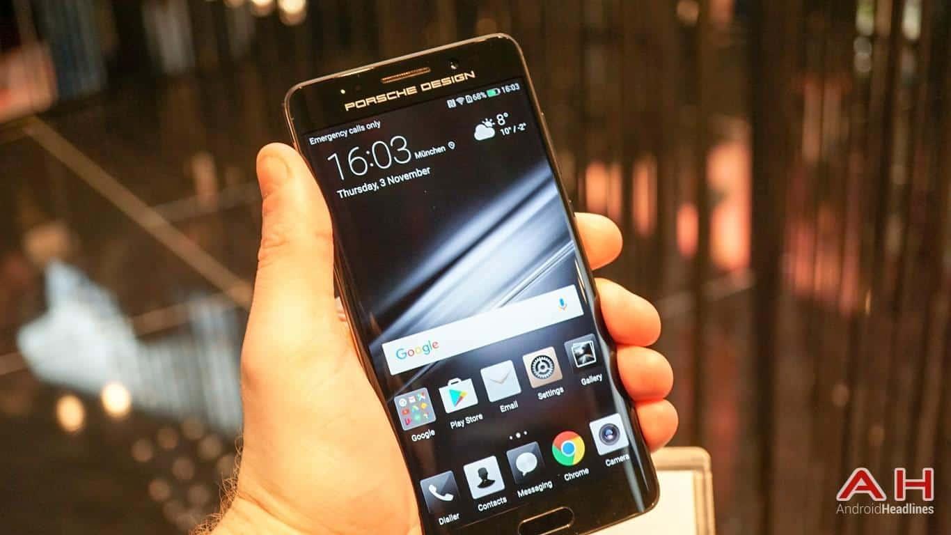 Huawei PRSCHE DESIGN Mate 9 Hands On AH 11