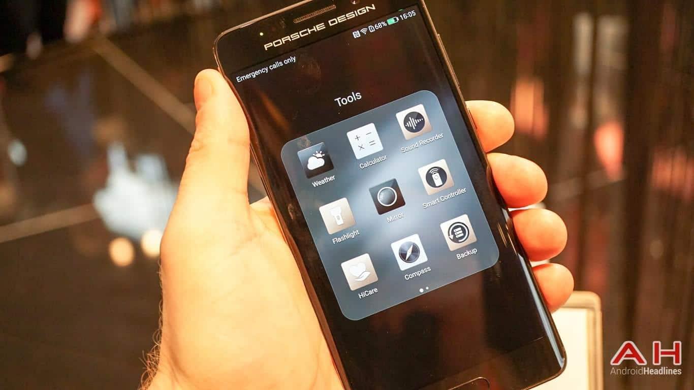 Huawei PRSCHE DESIGN Mate 9 Hands On AH 22