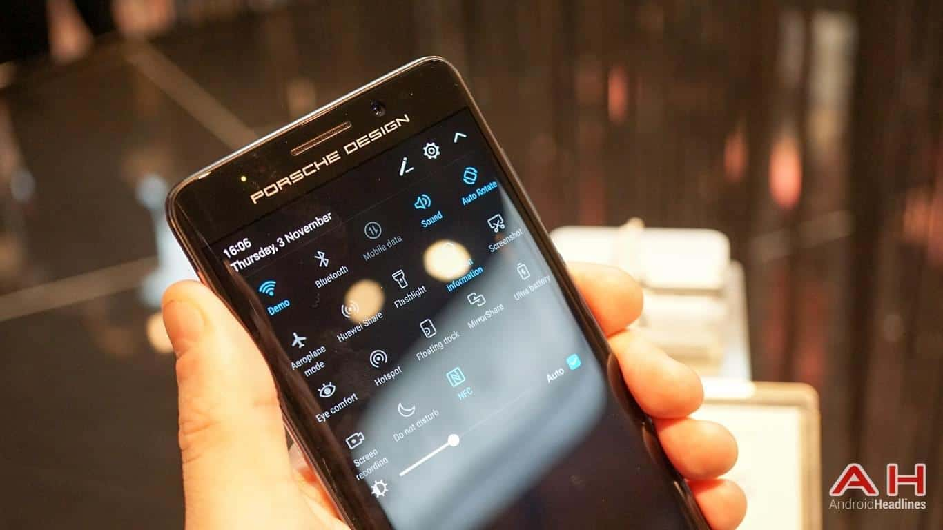 Huawei PRSCHE DESIGN Mate 9 Hands On AH 25