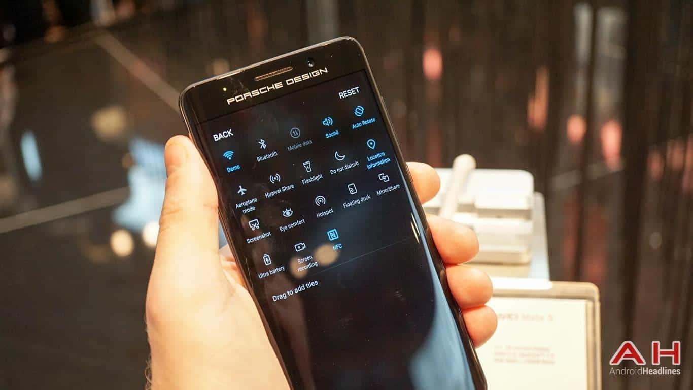 Huawei PRSCHE DESIGN Mate 9 Hands On AH 26