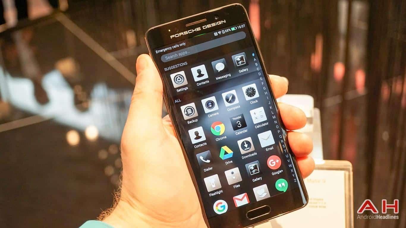 Huawei PRSCHE DESIGN Mate 9 Hands On AH 27