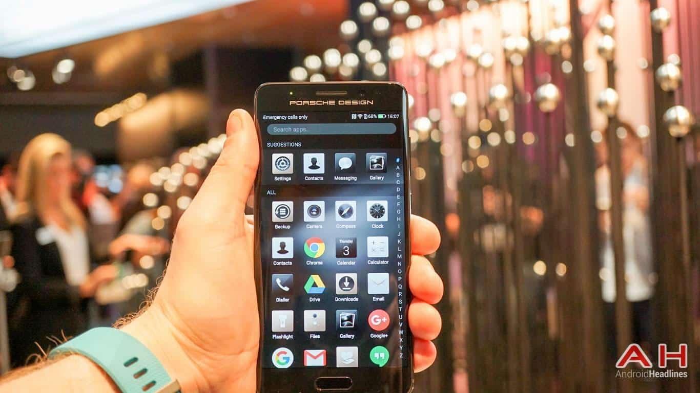 Huawei PRSCHE DESIGN Mate 9 Hands On AH 30