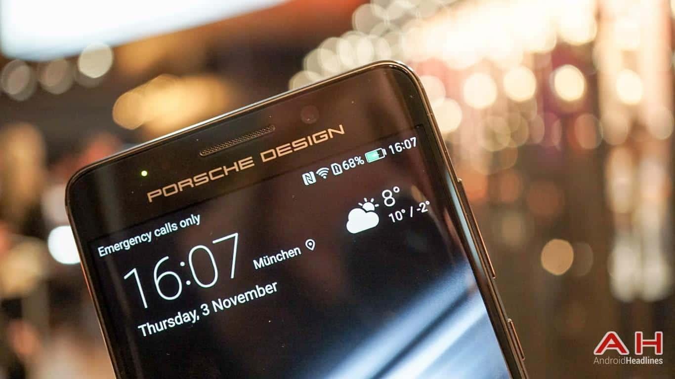 Huawei PRSCHE DESIGN Mate 9 Hands On AH 31