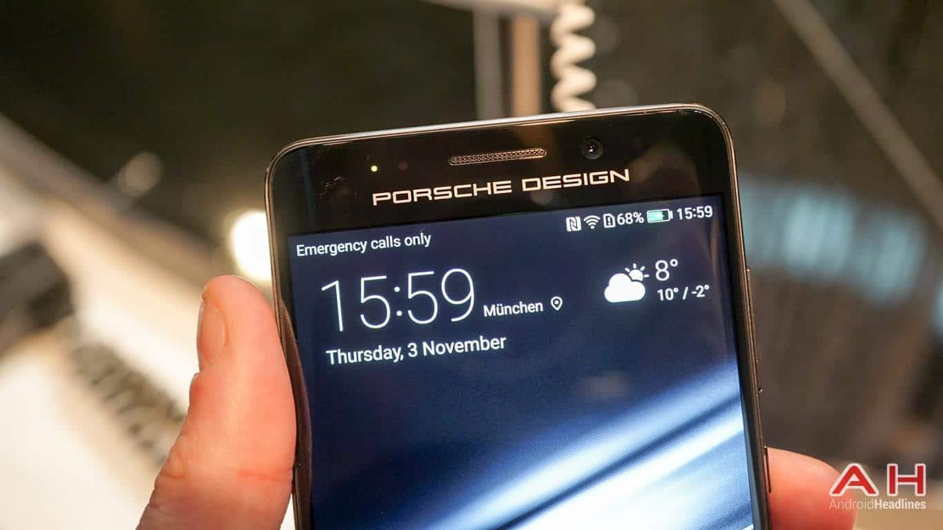 Huawei PRSCHE DESIGN Mate 9 Hands On AH 4
