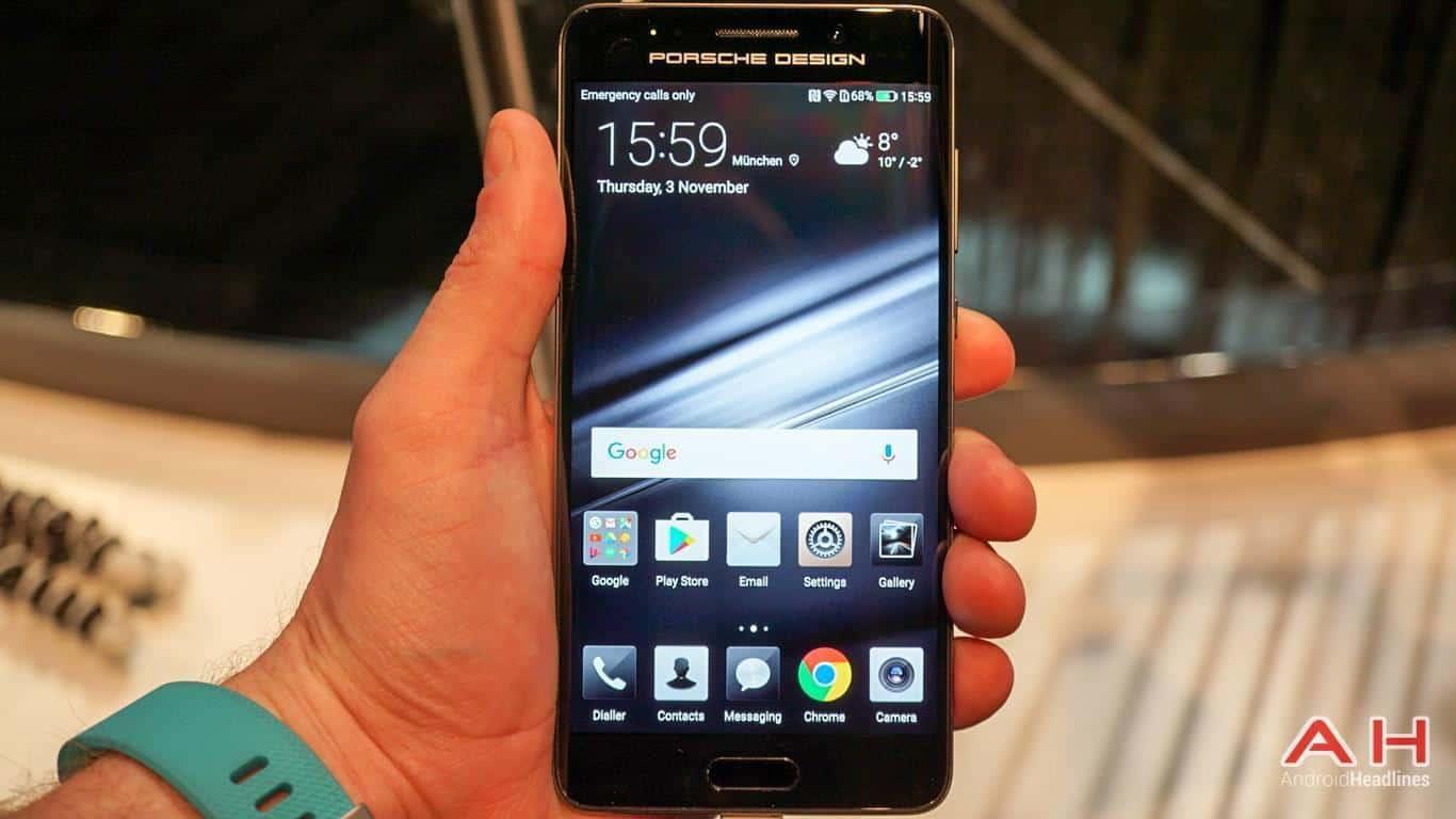 Huawei PRSCHE DESIGN Mate 9 Hands On AH 5