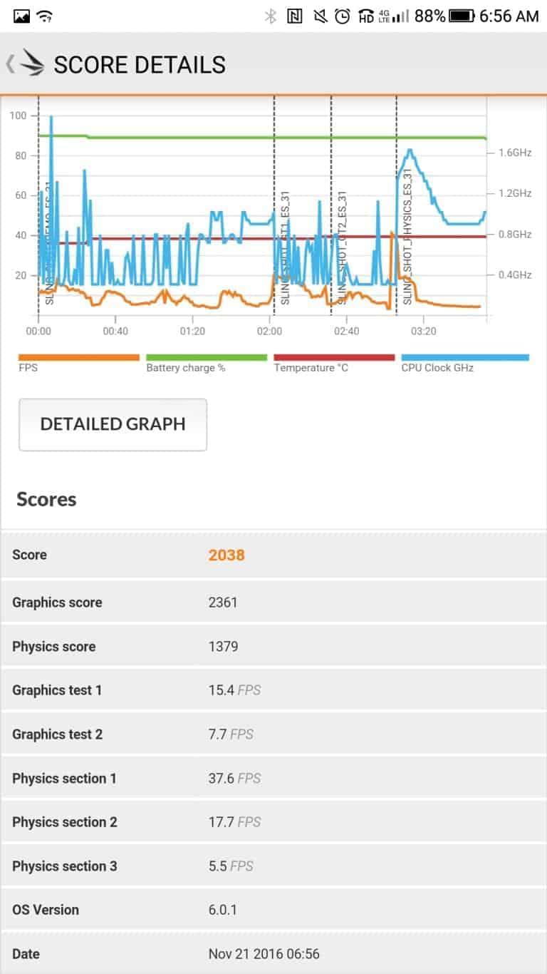 LeEco Le Pro3 AH NS screenshots benchmark 2