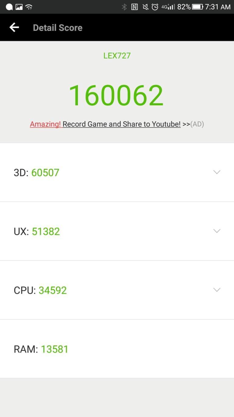 LeEco Le Pro3 AH NS screenshots benchmark 8