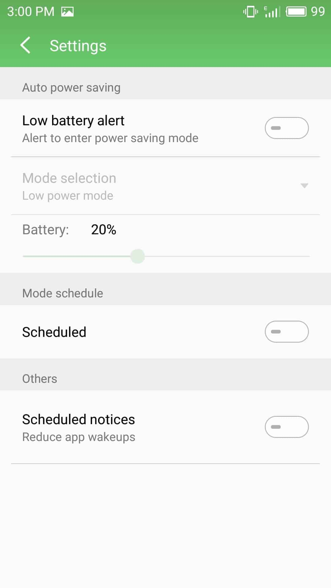 Meizu M3 Max AH NS Screenshots battery saver