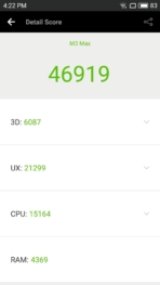 Meizu M3 Max AH NS Screenshots benchmarks 5