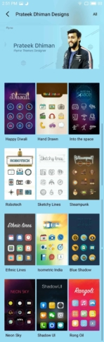 Meizu M3 Max AH NS Screenshots themes 2