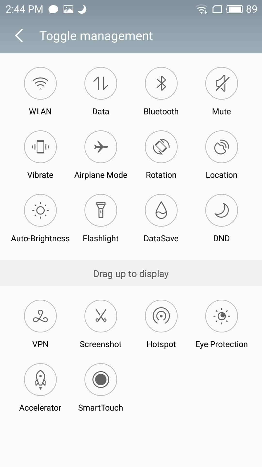 Meizu M3 Max AH NS Screenshots ui notif 3