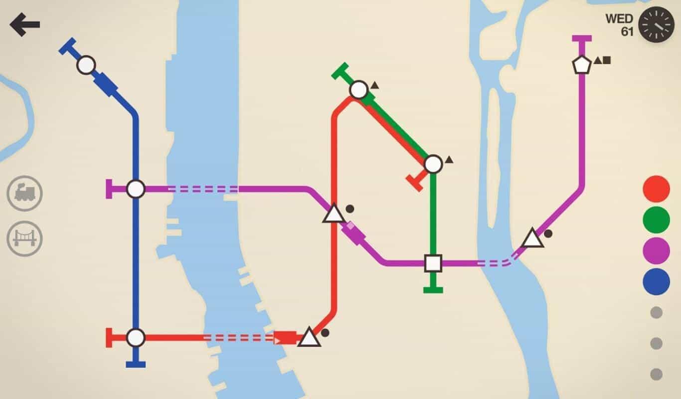 Mini Metro game official image 1