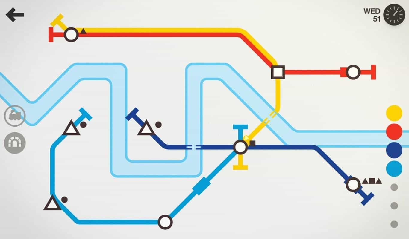 Mini Metro game official image 2