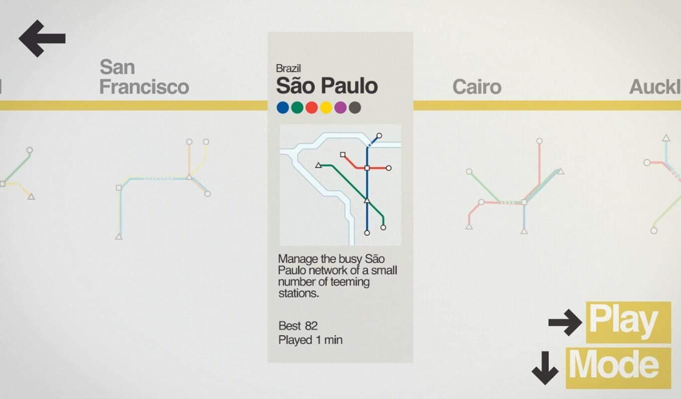 Mini Metro game official image 3