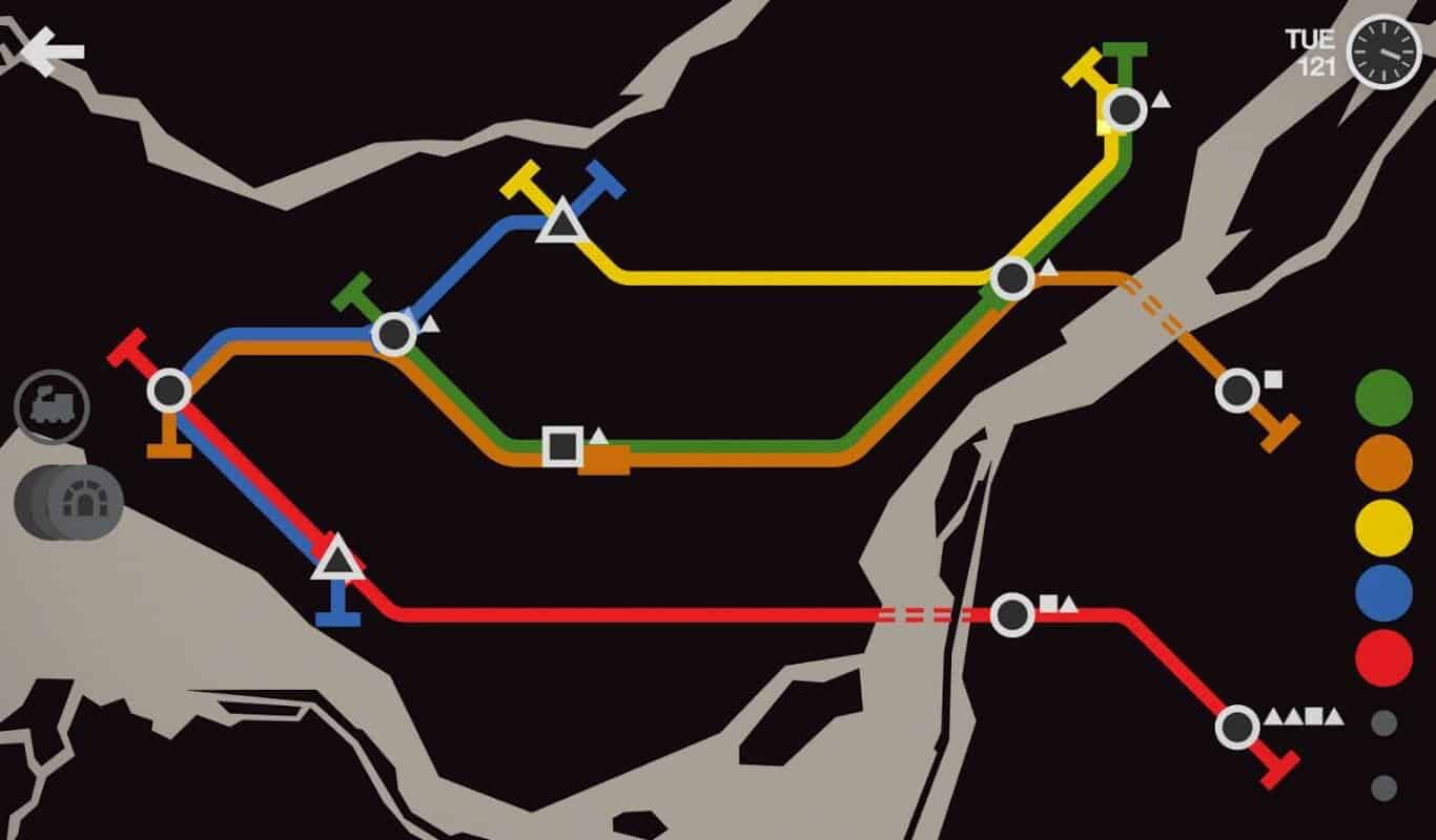 Mini Metro game official image 5