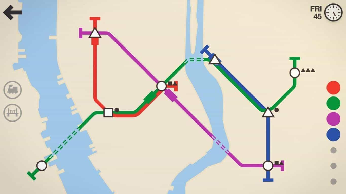 Mini Metro game official image 6