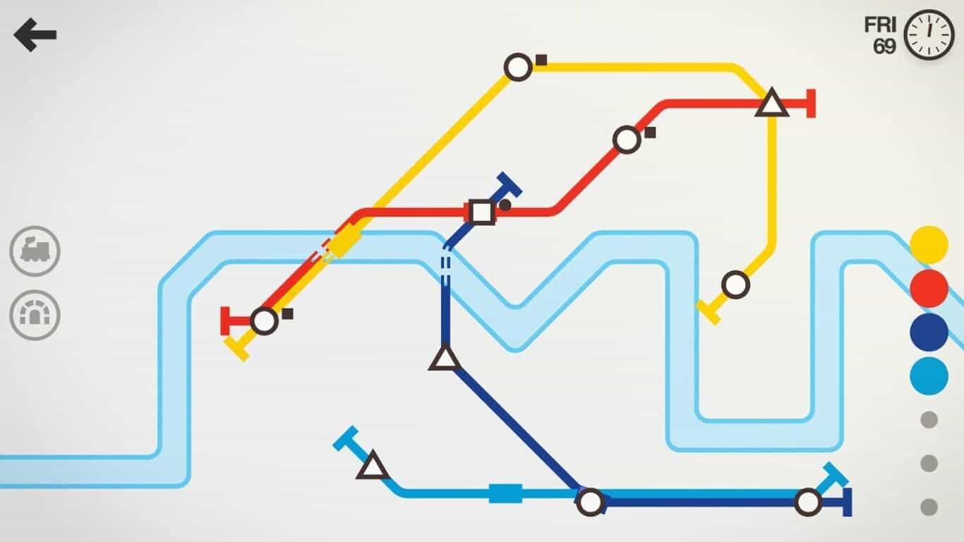 Mini Metro game official image 7
