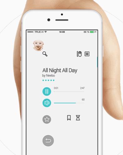 Neebo baby monitor 5