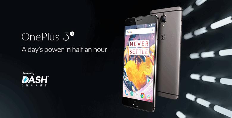 OnePlus 3T Promo Image