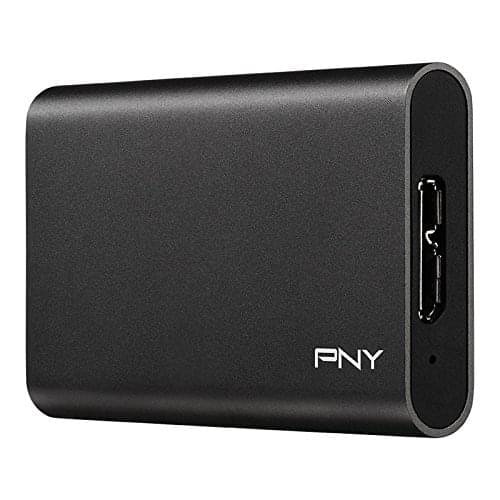 PNY Elite 480GB USB 3.0 Portable Solid State Drive SSD