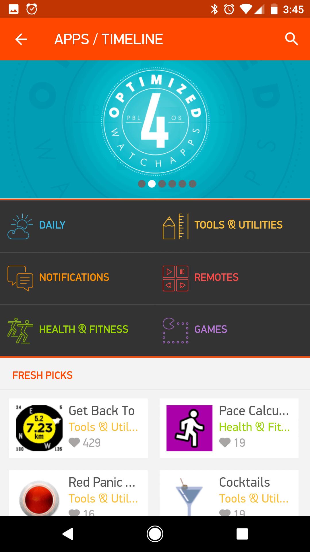 Pebble Companion App 3