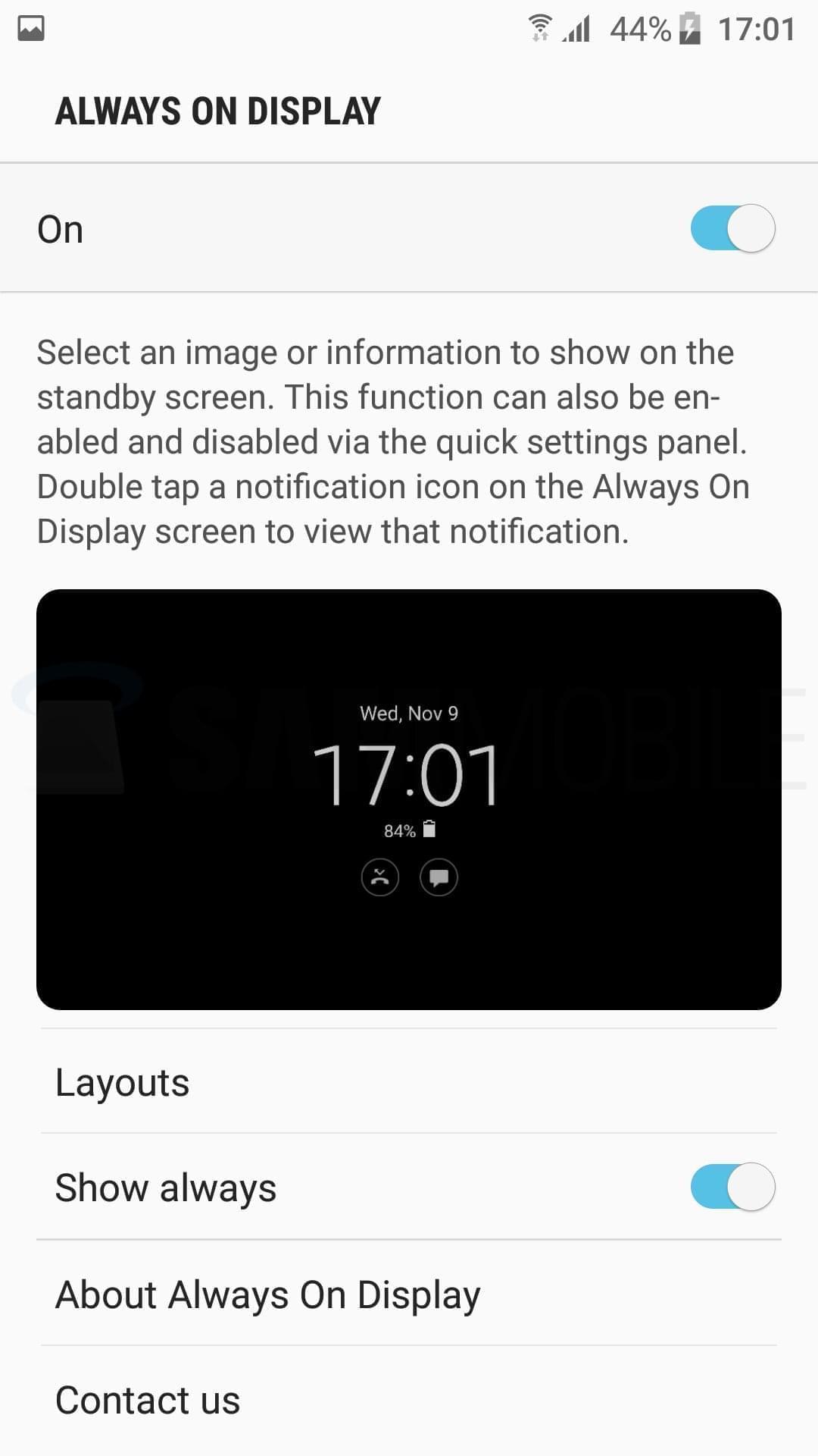 S7 Nougat Beta 81