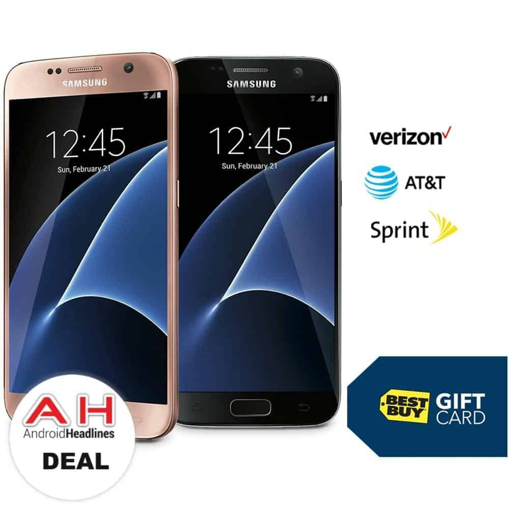 Deal: Best Buy Giving Up To $450 Gift Card with Galaxy S7 Purchase ...