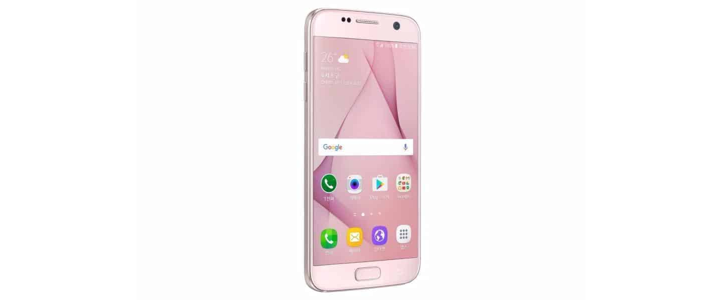 Samsung Galaxy S7 Pink Blossom 3