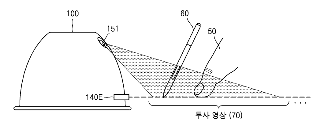 Samsung Gear projector Patent 09