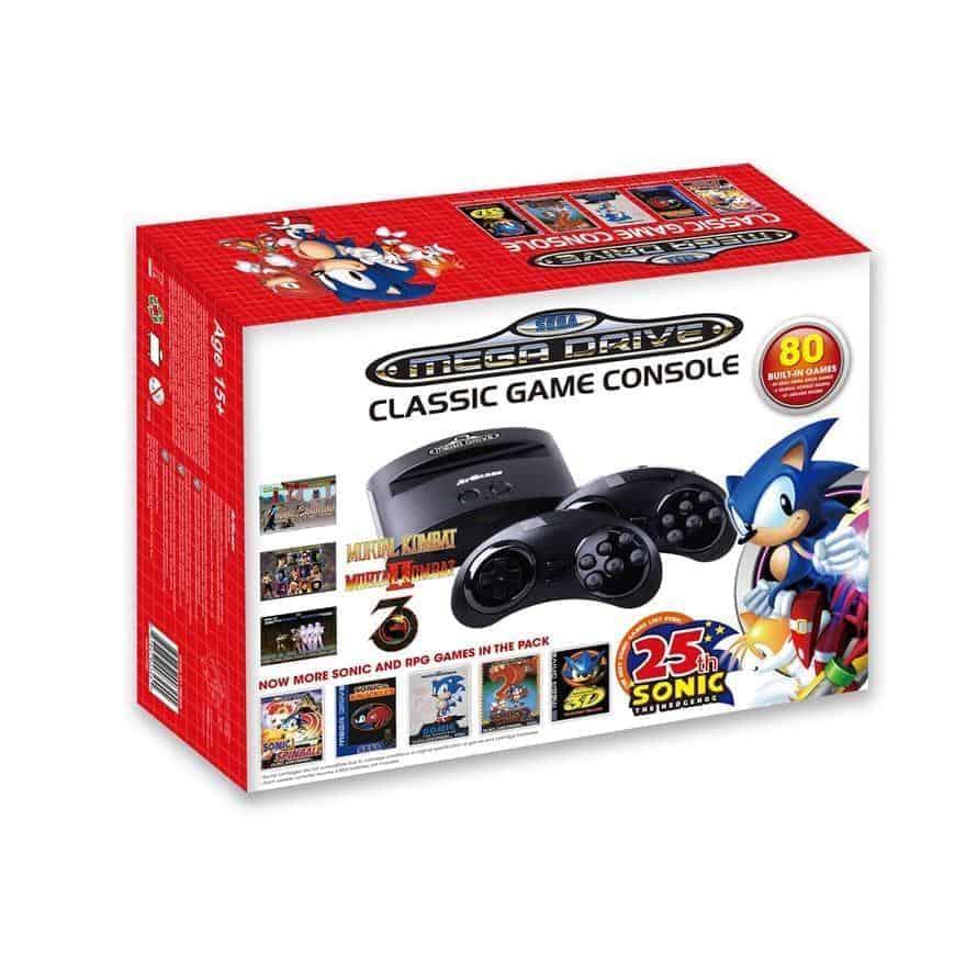 Today s tech deals nov 14th 2016 amazon fire hd 6 - Sega genesis classic game console games ...