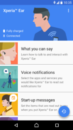 Sony Xperia Ear App 01