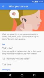Sony Xperia Ear App 02