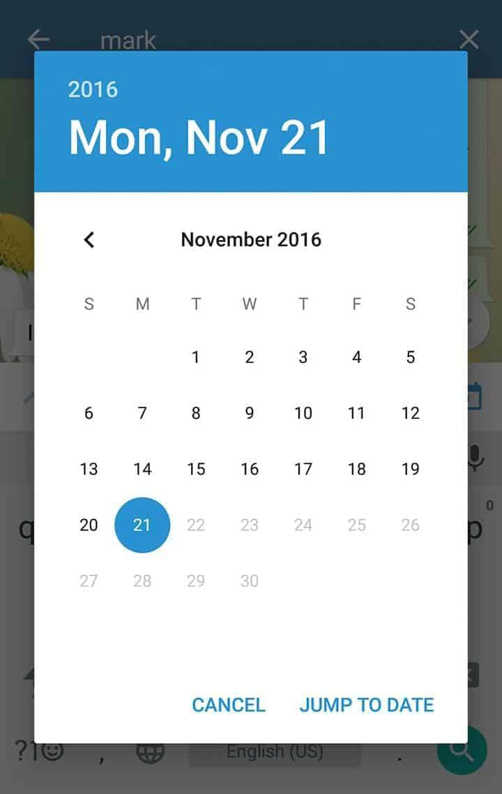Telegram app update screenshot 4