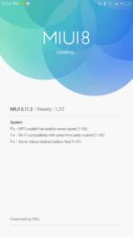 Xiaomi Mi MIX AH NS Screenshots miui 8 weekly update