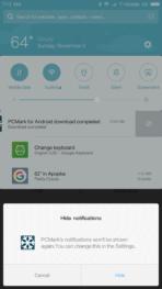 Xiaomi Mi MIX AH NS Screenshots notification block
