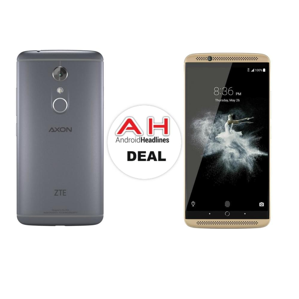 deal zte axon 7 64gb for 349   12 13 16 androidheadlines