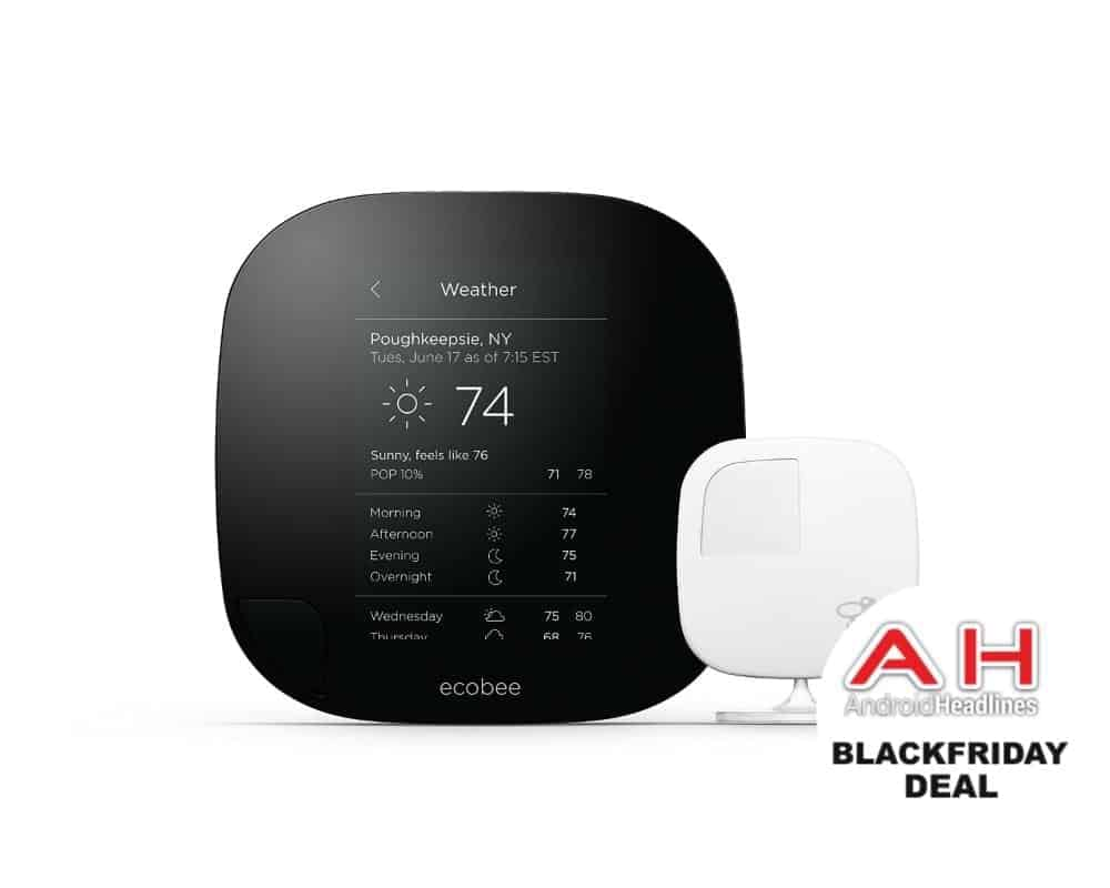 Deal  Ecobee3 Smart Thermostat For  199  24  16